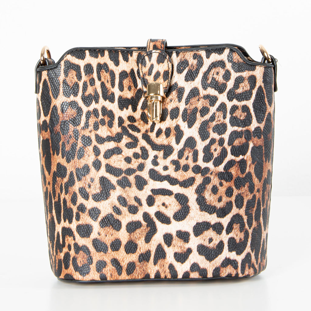 Abbey Bag | Brown Leopard