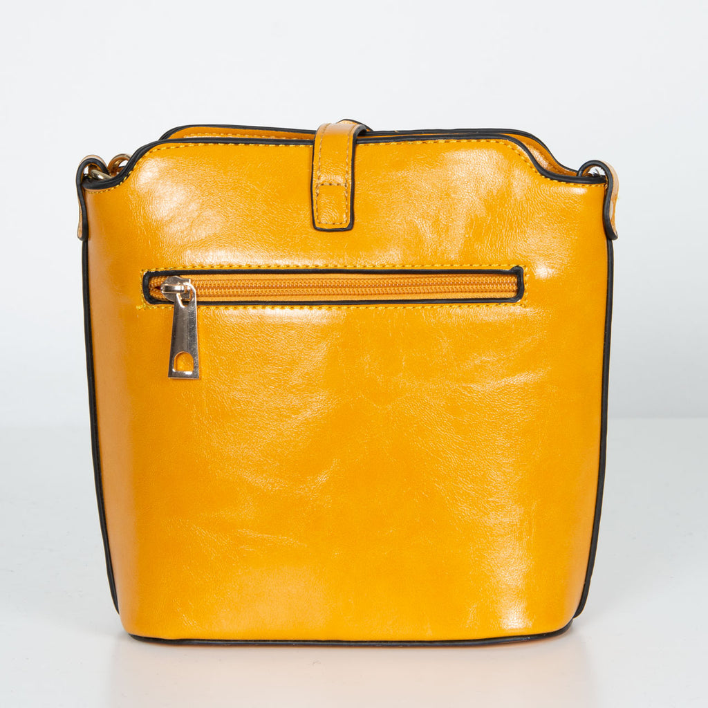 Abbey Bag | Mustard