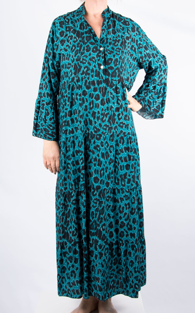 Alex Maxi Dress | Teal