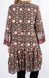 Alex Smock Dress | Pink Paisley