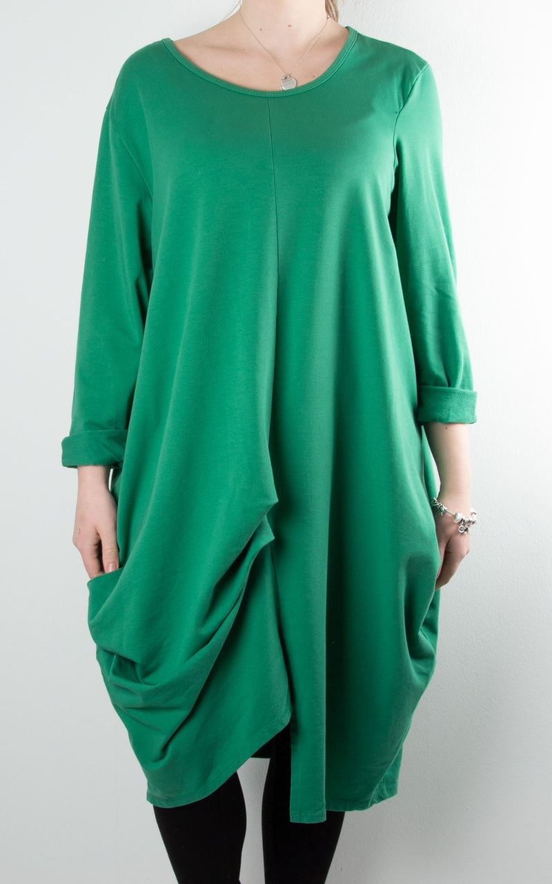 Amber Sweat Tunic | Green