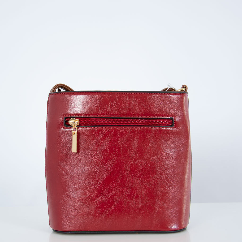 Anna Pocket | Dark Red