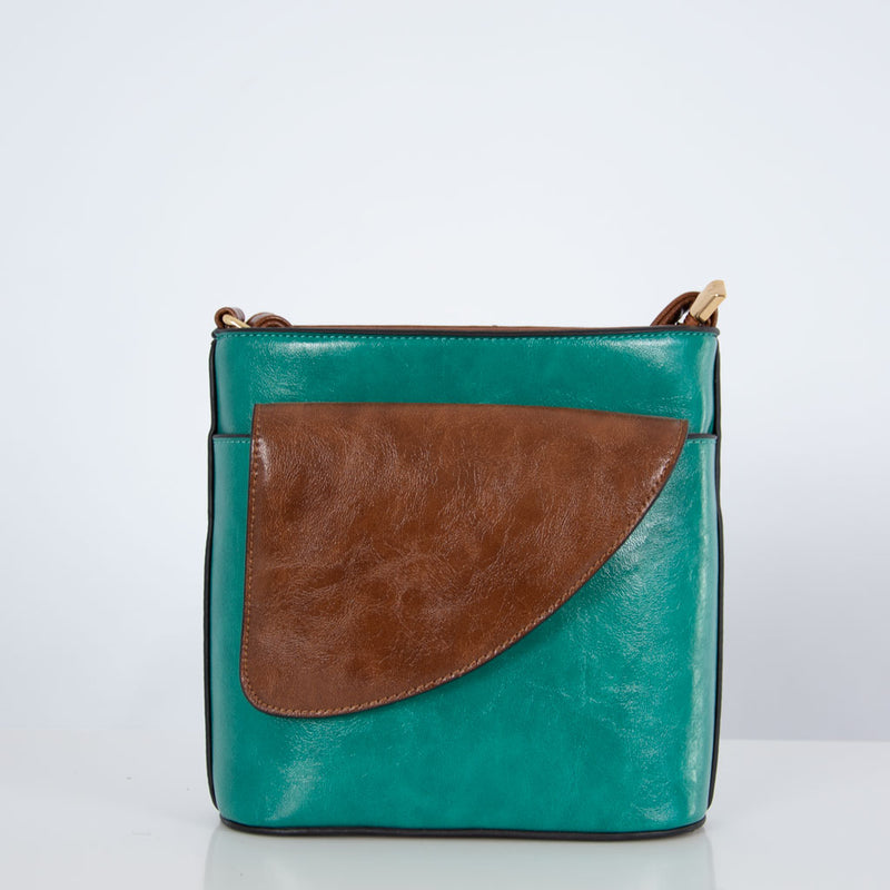Anna Pocket | Blue Green
