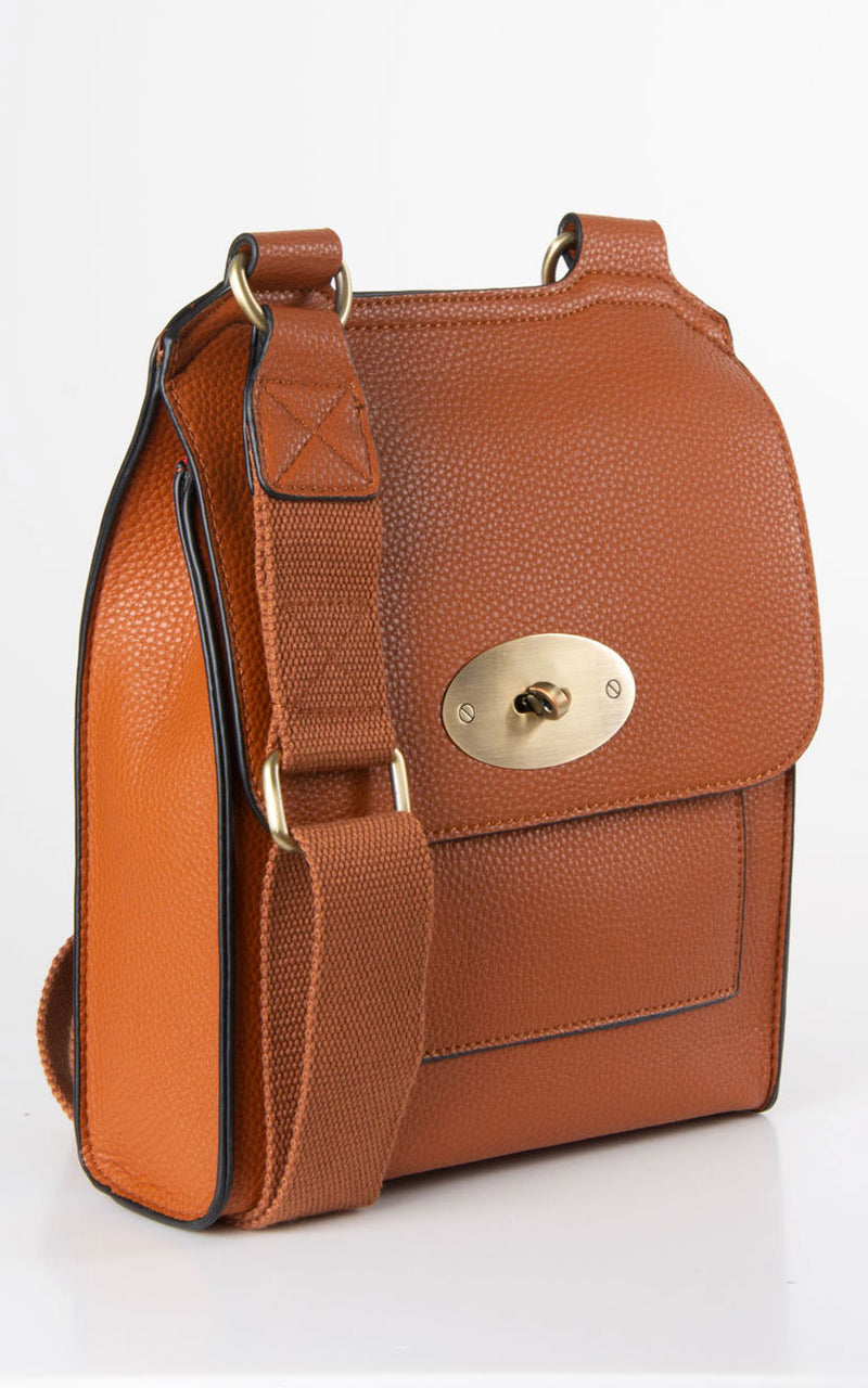 Messenger Bag | Brown
