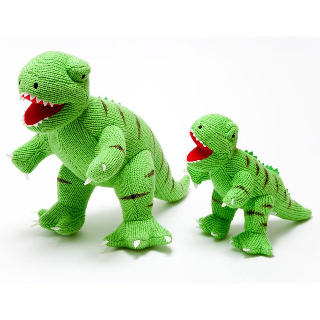 Knitted Dino Large  | T Rex