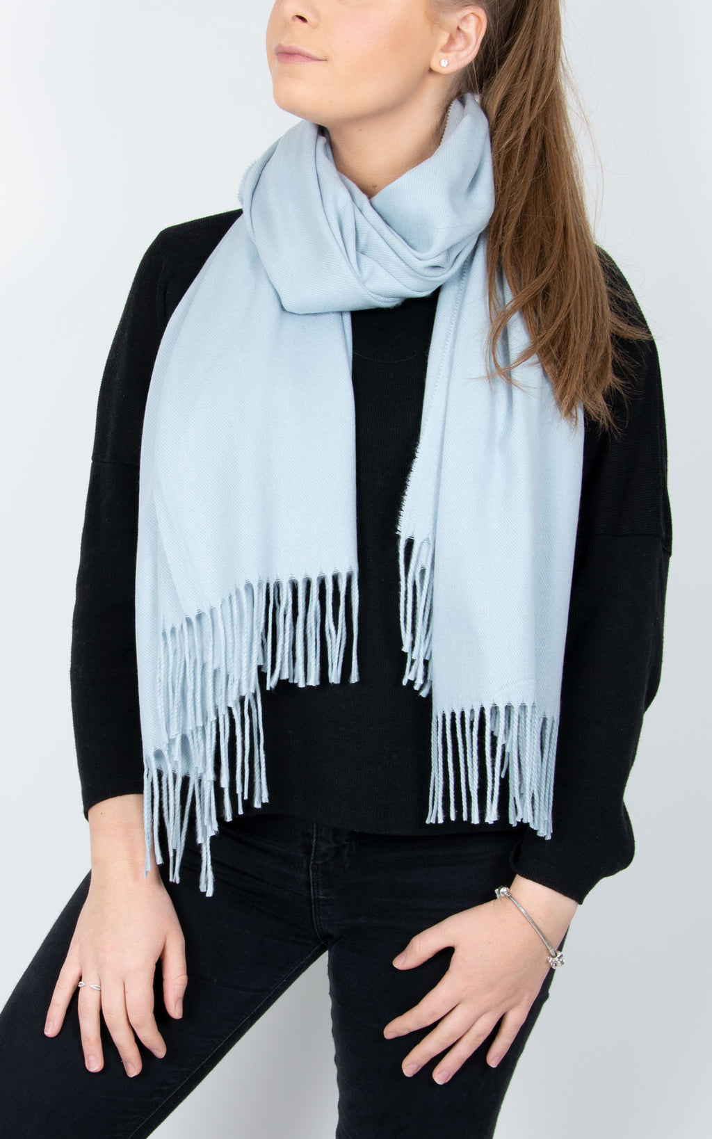 Blanket Scarf | Baby Blue
