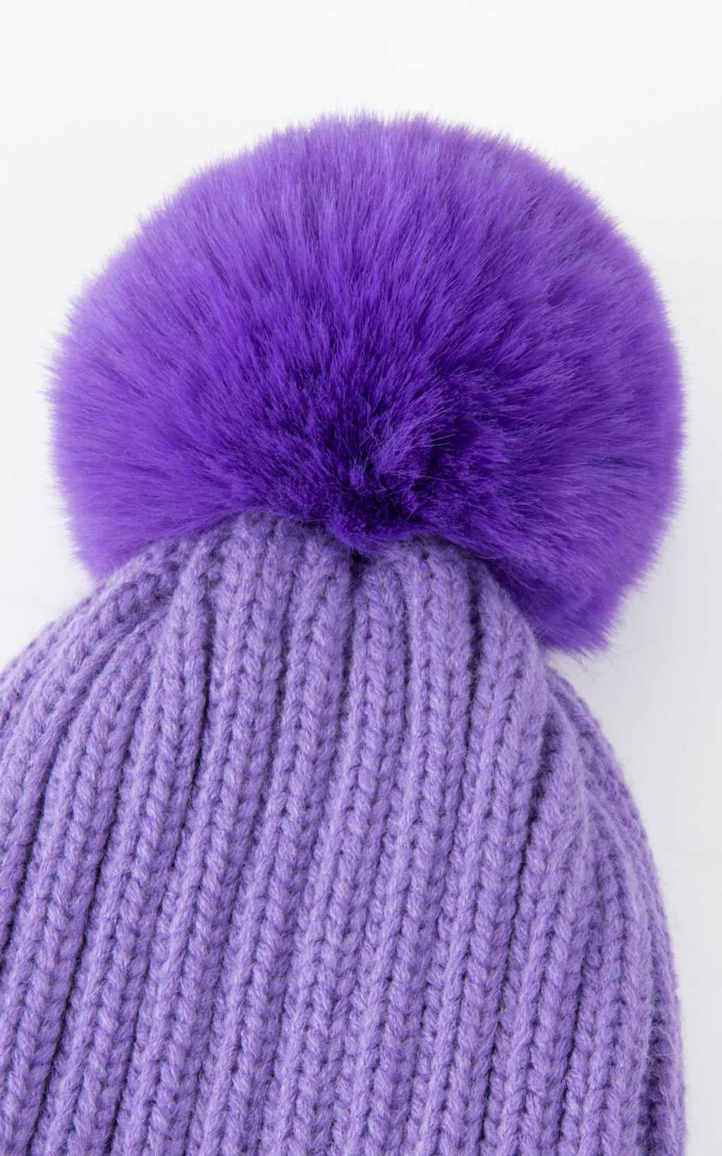 Basic Bobble Hat | Purple