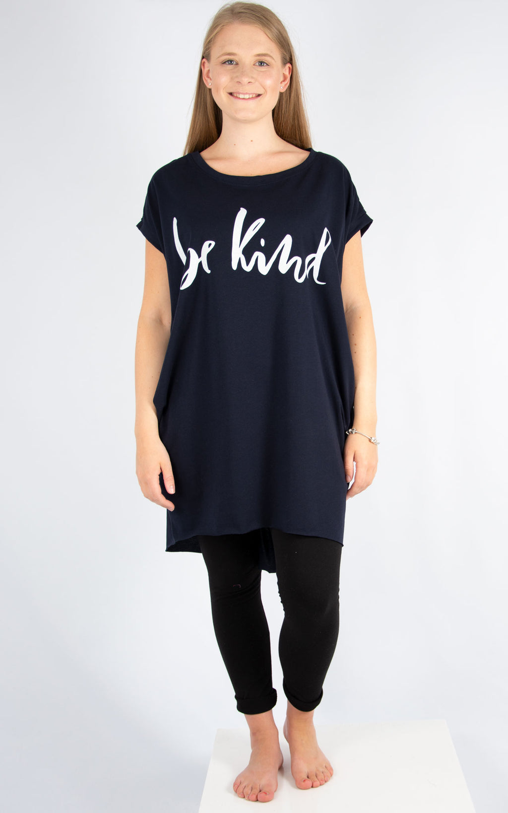 Navy Be Kind T | Made In Italy