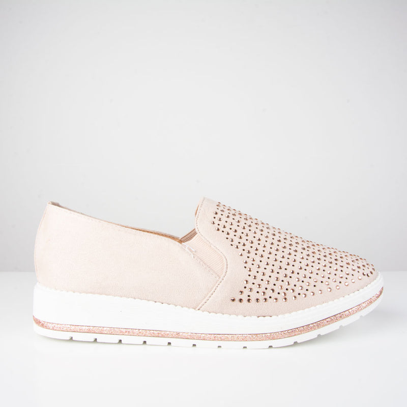 Shoes: Belle Trainer | Pink