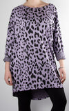 Billy Leopard Tunic | Lilac
