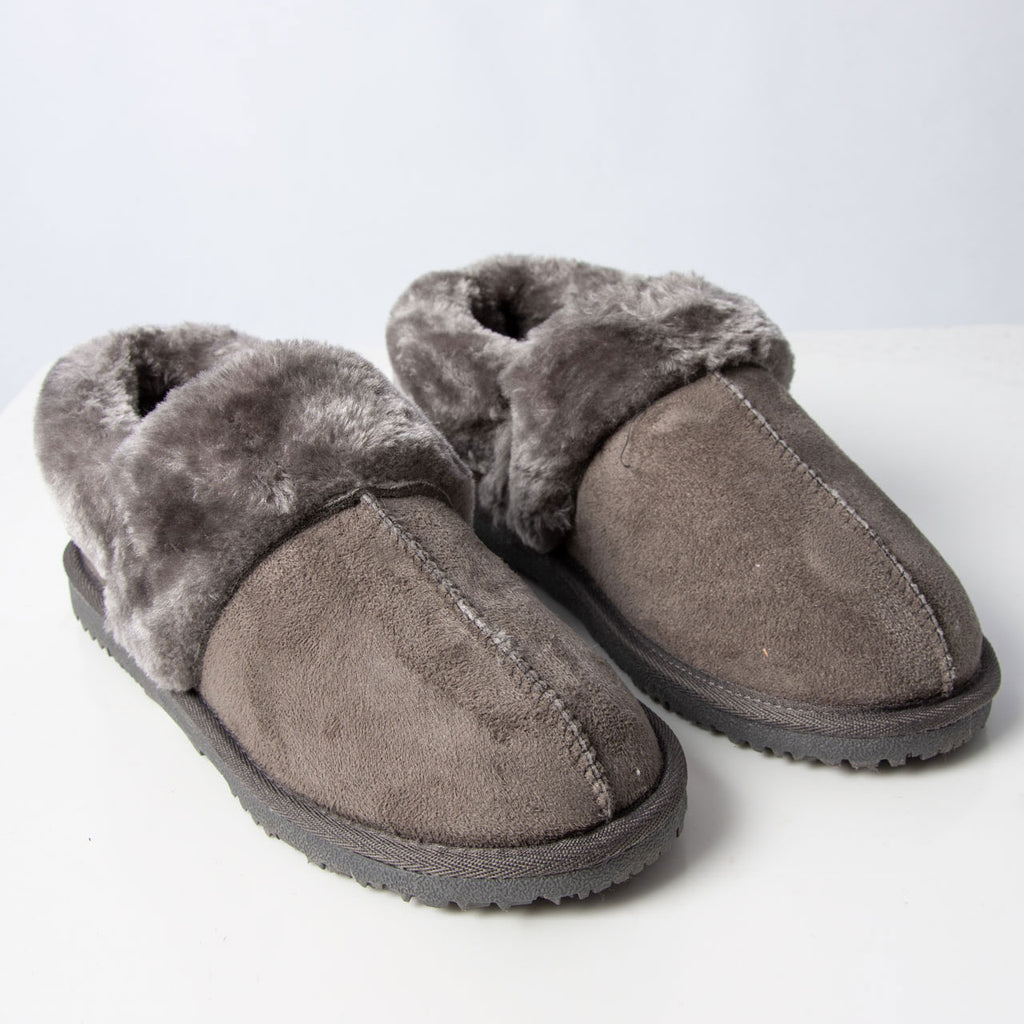 Slipper: Billy Slipper Grey