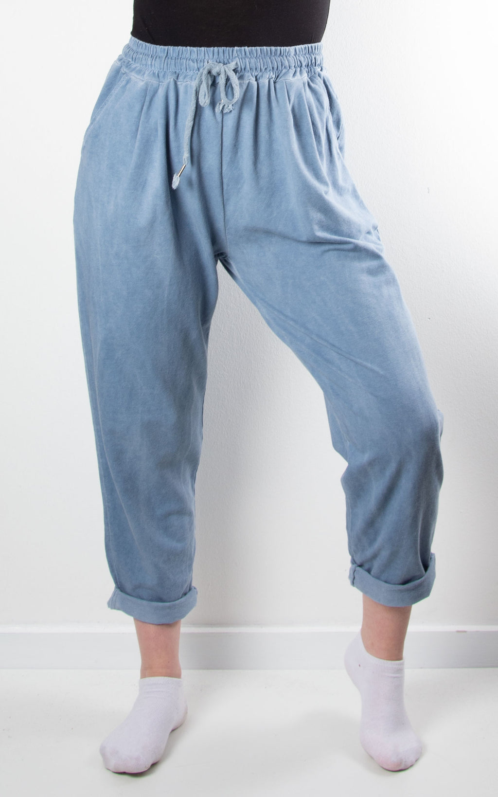 Bonnie Washed Joggers | Blue
