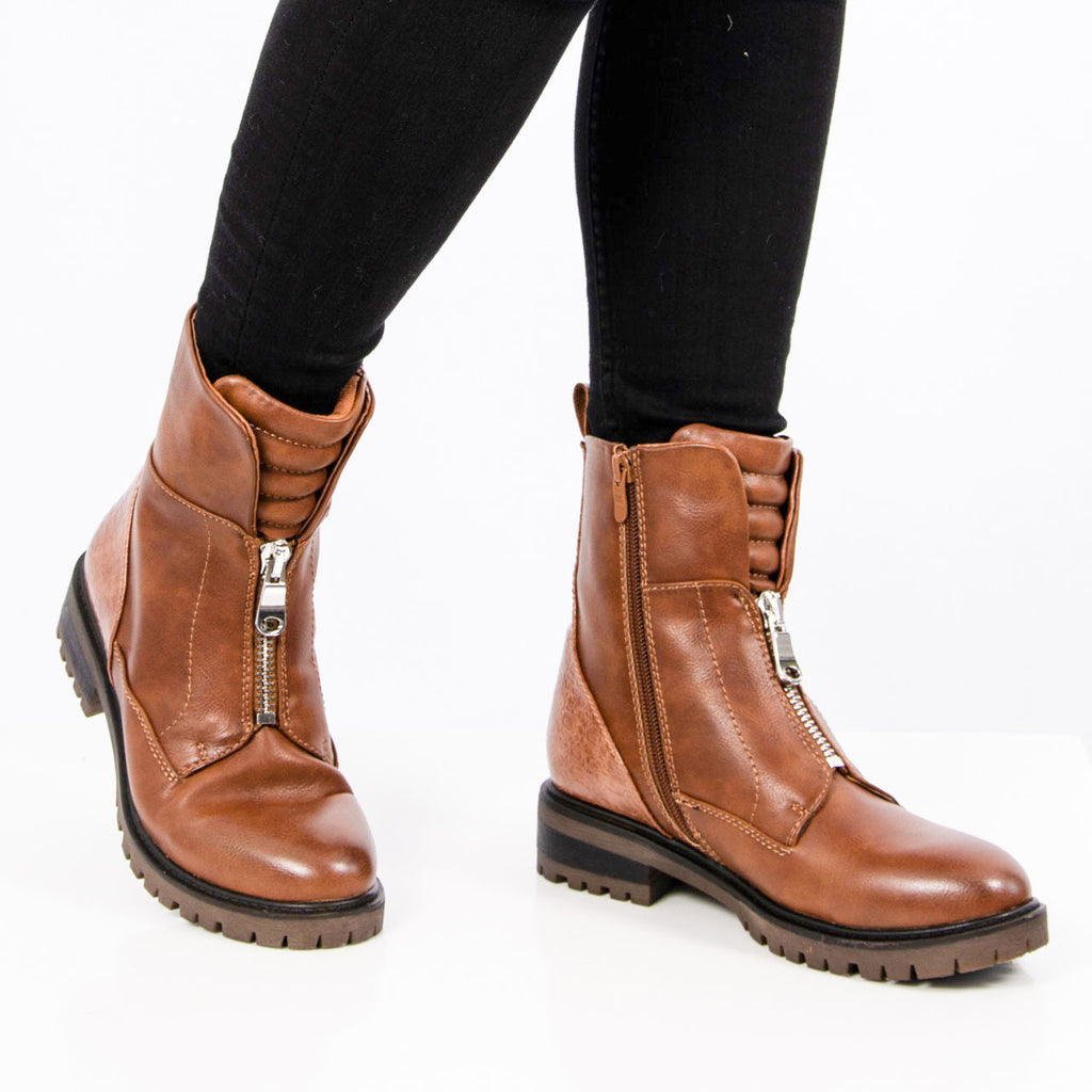 Boots| Harley Camel