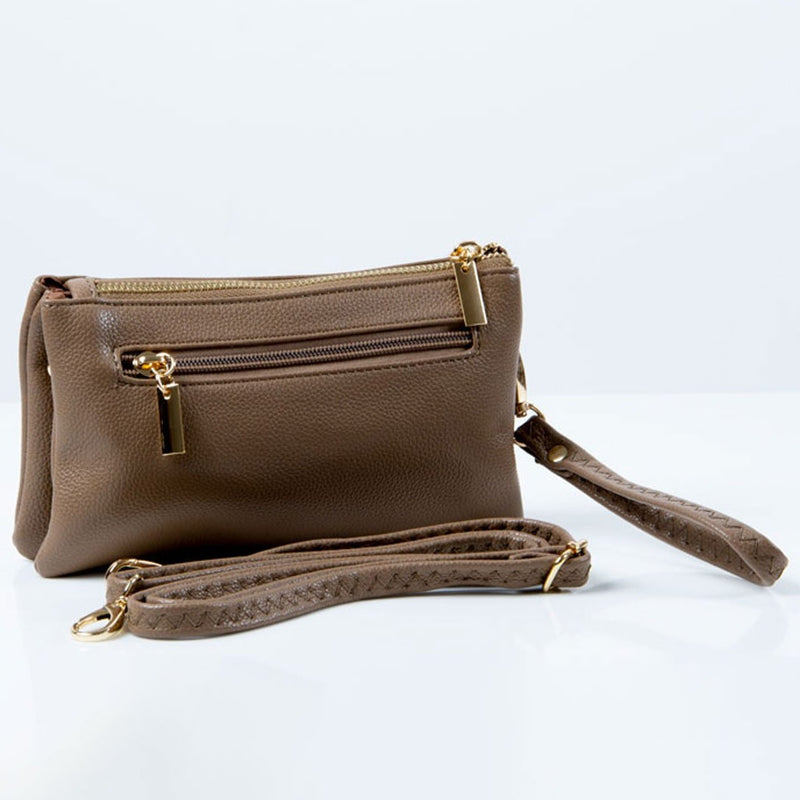 Clutch Bag | Toni | Khaki