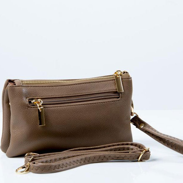 Clutch Bag | Toni | Brown