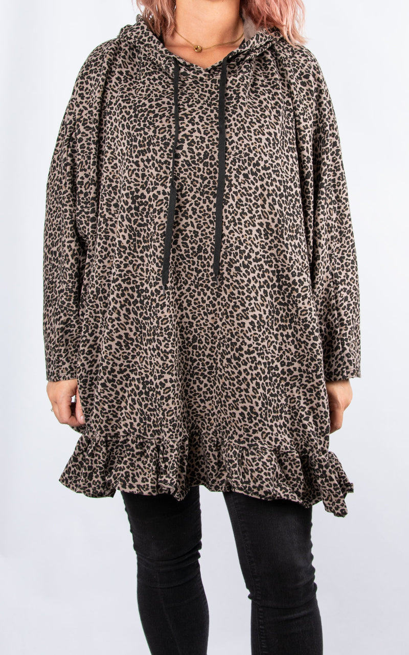 Lisa Leopard Print | Brown