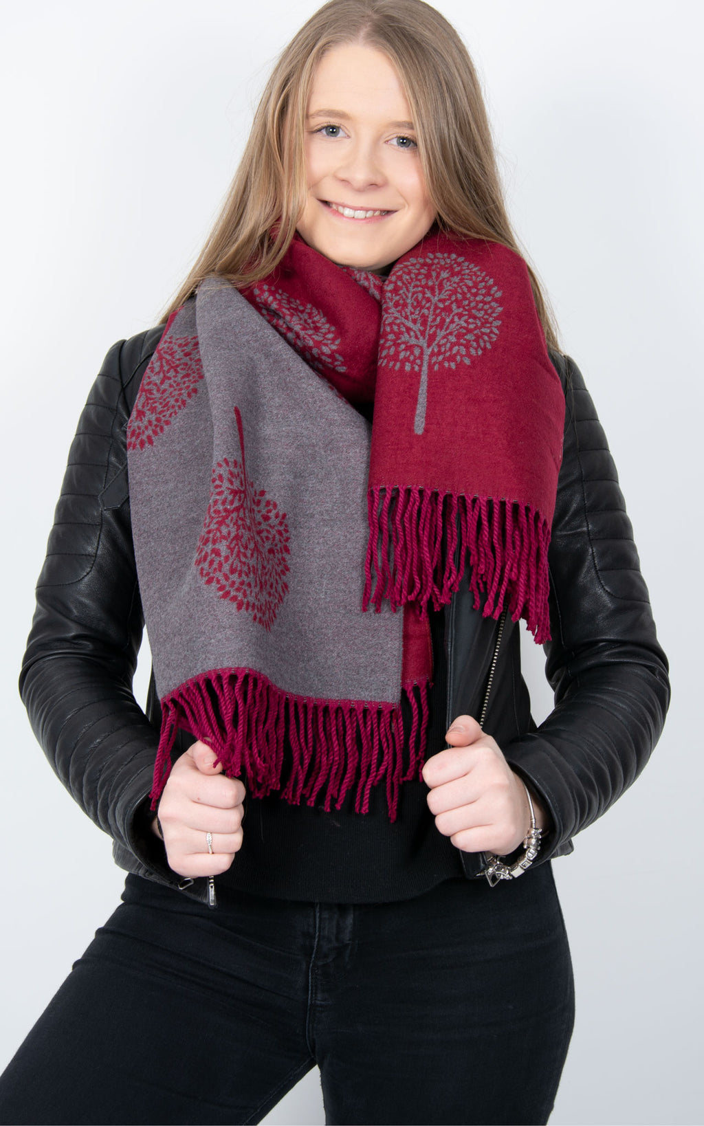 Mulberry Blanket Scarf - Mulberry Tree