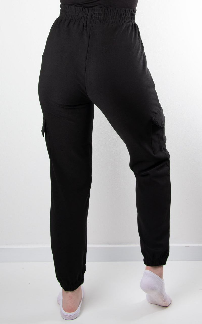 Cargo Leggings | Black