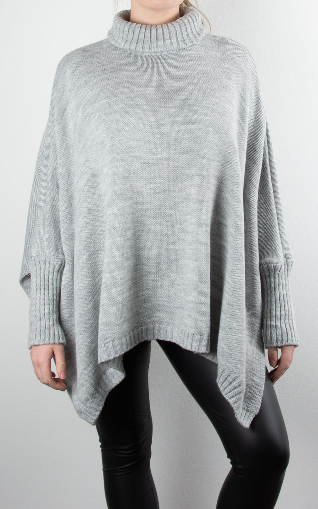 Chunky Knit Split | Grey