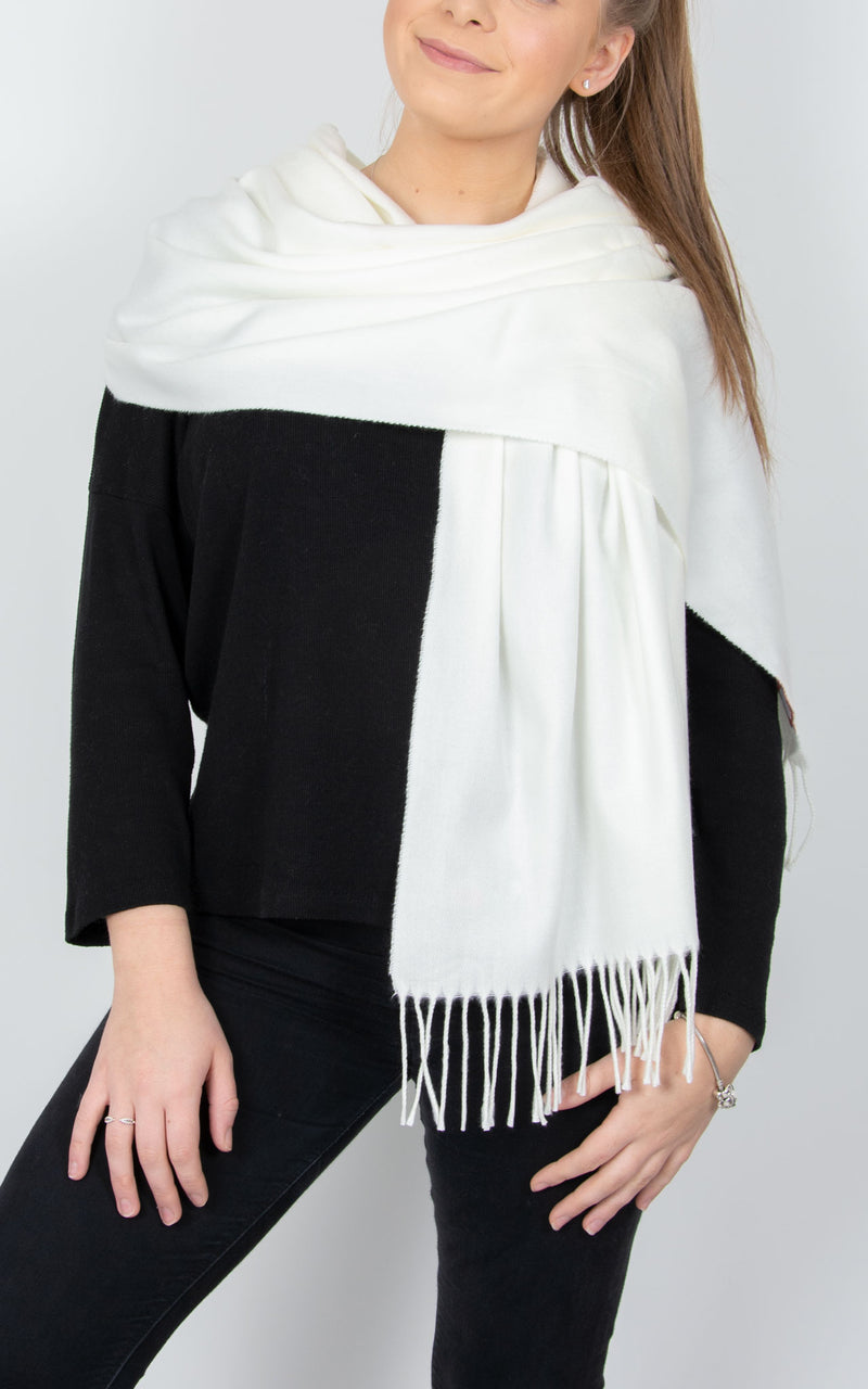 Blanket Scarf | Cream