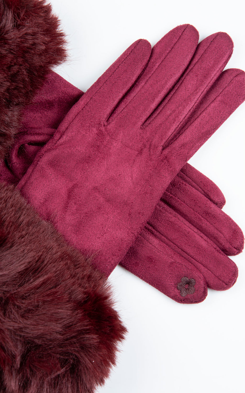 Faux Fur Gloves | Mulberry