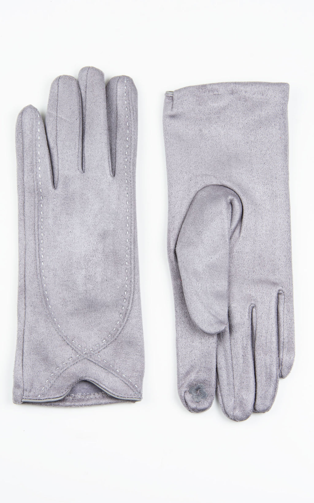 Plain Gloves | Grey