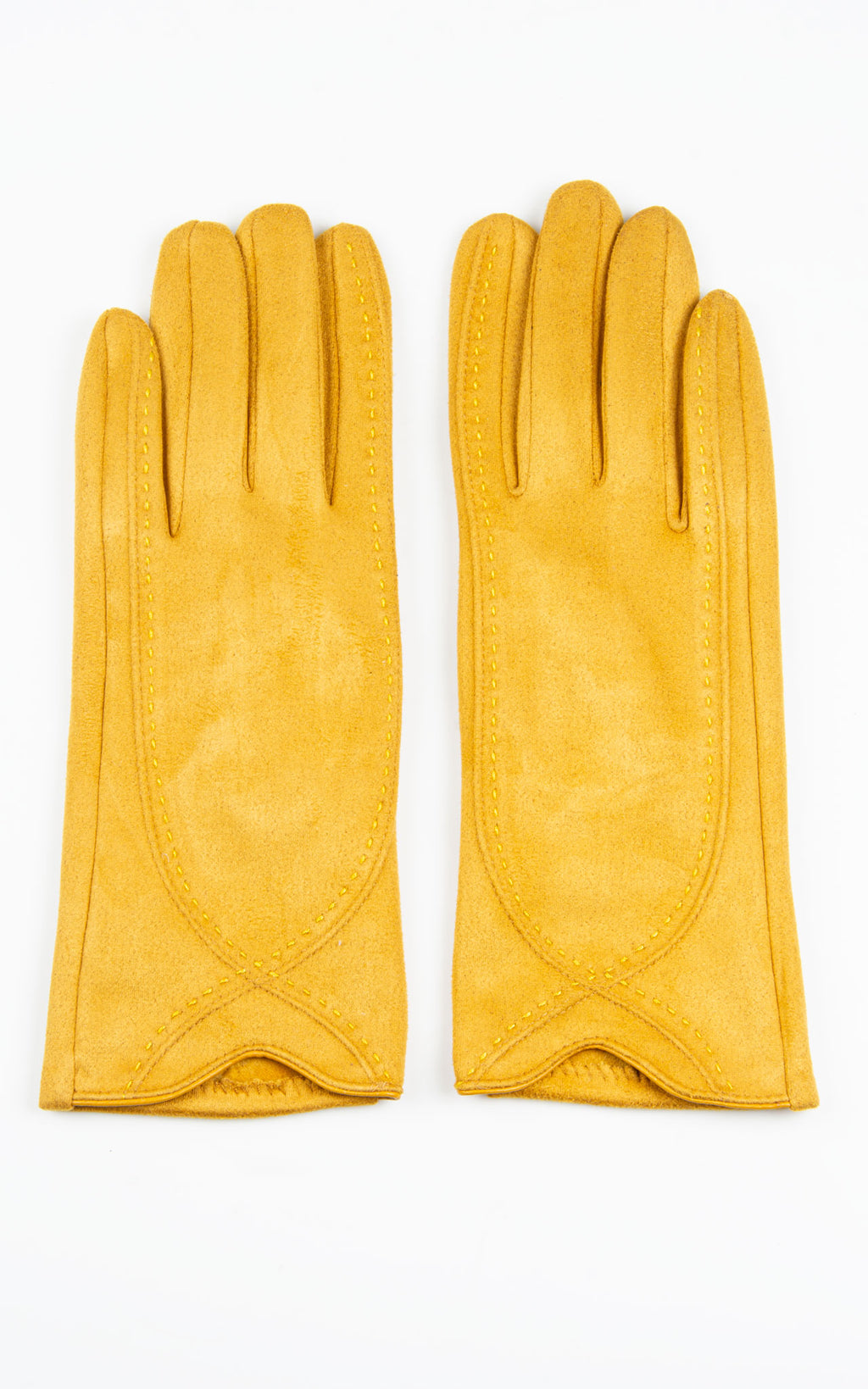 Plain Gloves | Mustard