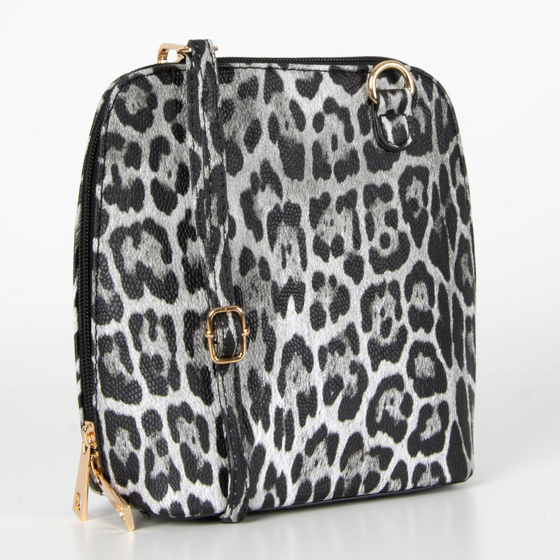 Adele Bag | Black Leopard