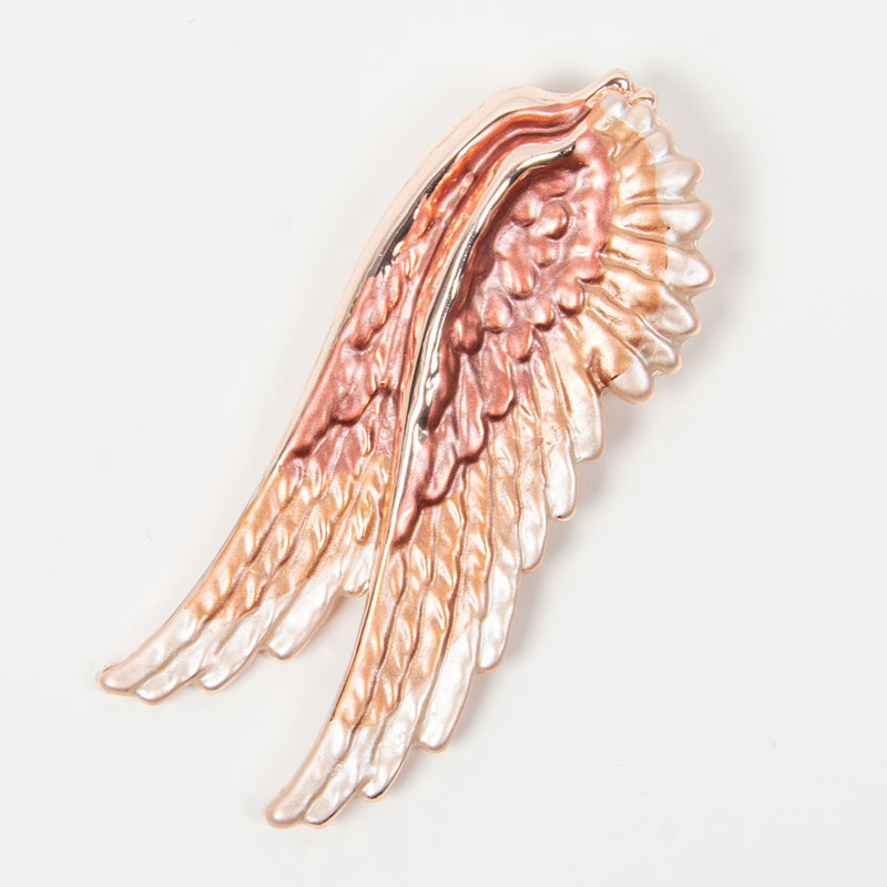 Brooch | Angel Wing | Rose Gold