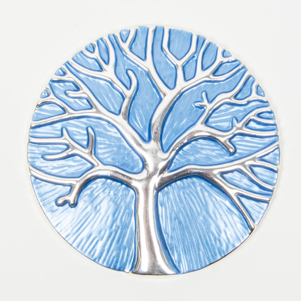 Brooch | Tree of Life |  Blue