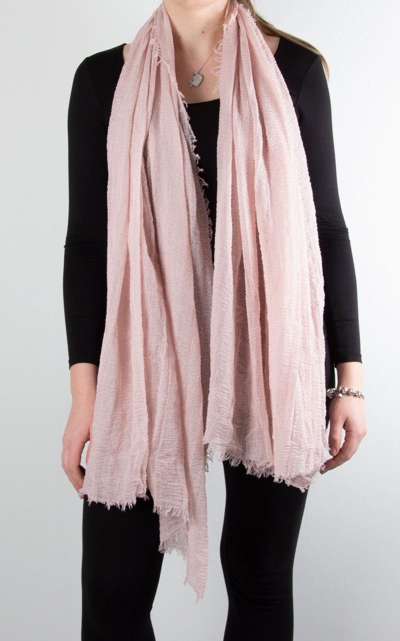 Soft Touch Scarf | Pale Pink