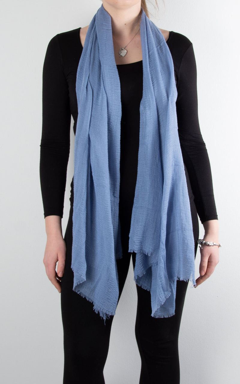 Soft Touch Scarf | Denim