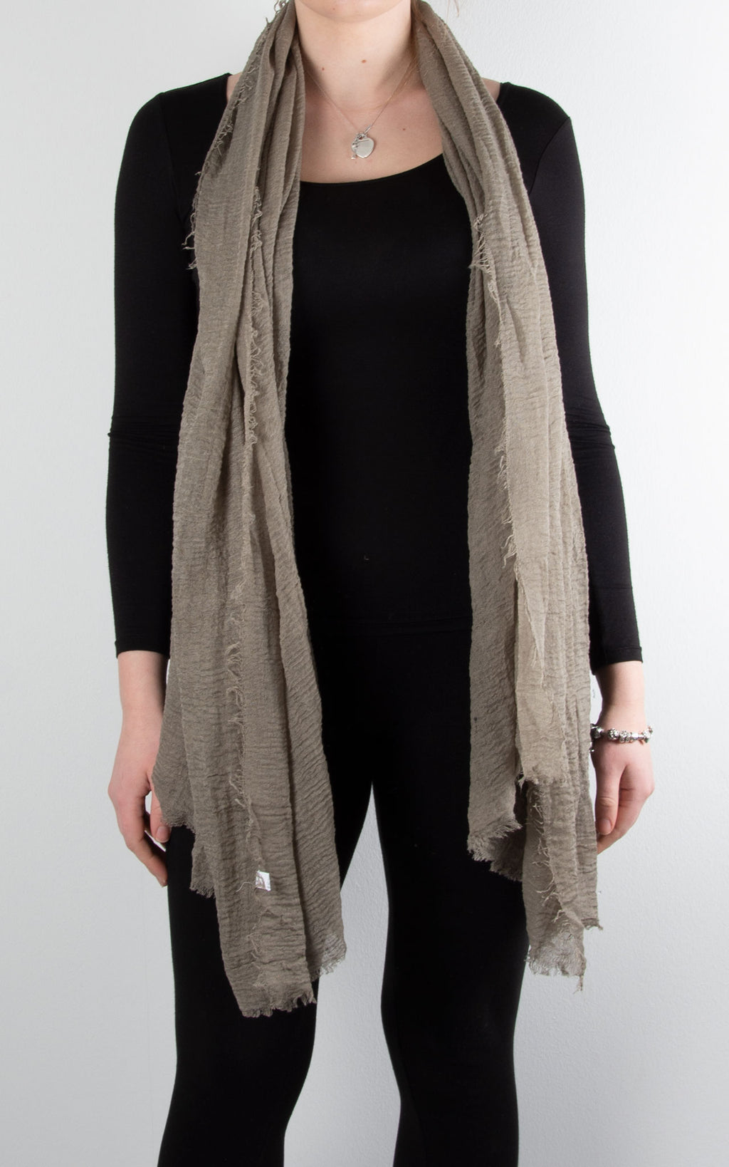 Soft Touch Scarf | Taupe