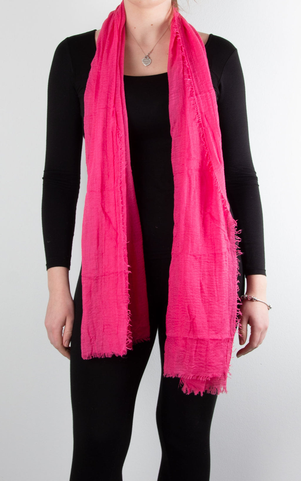 Soft Touch Scarf | Hot Pink