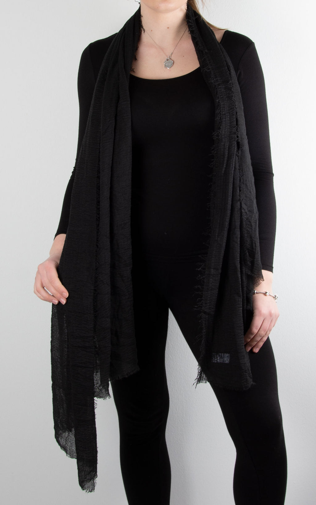 Soft Touch Scarf | Black