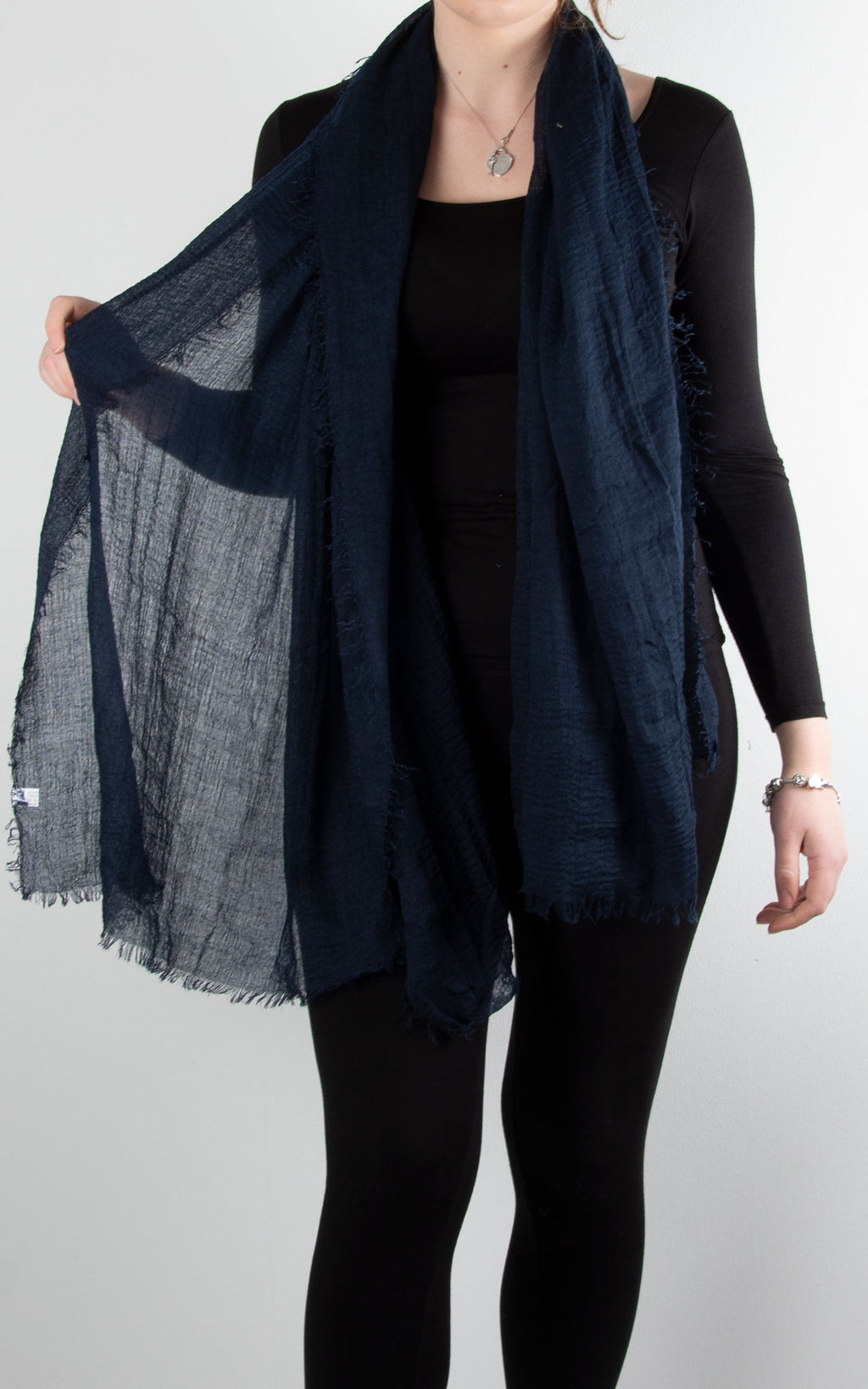 Soft Touch Scarf | Navy