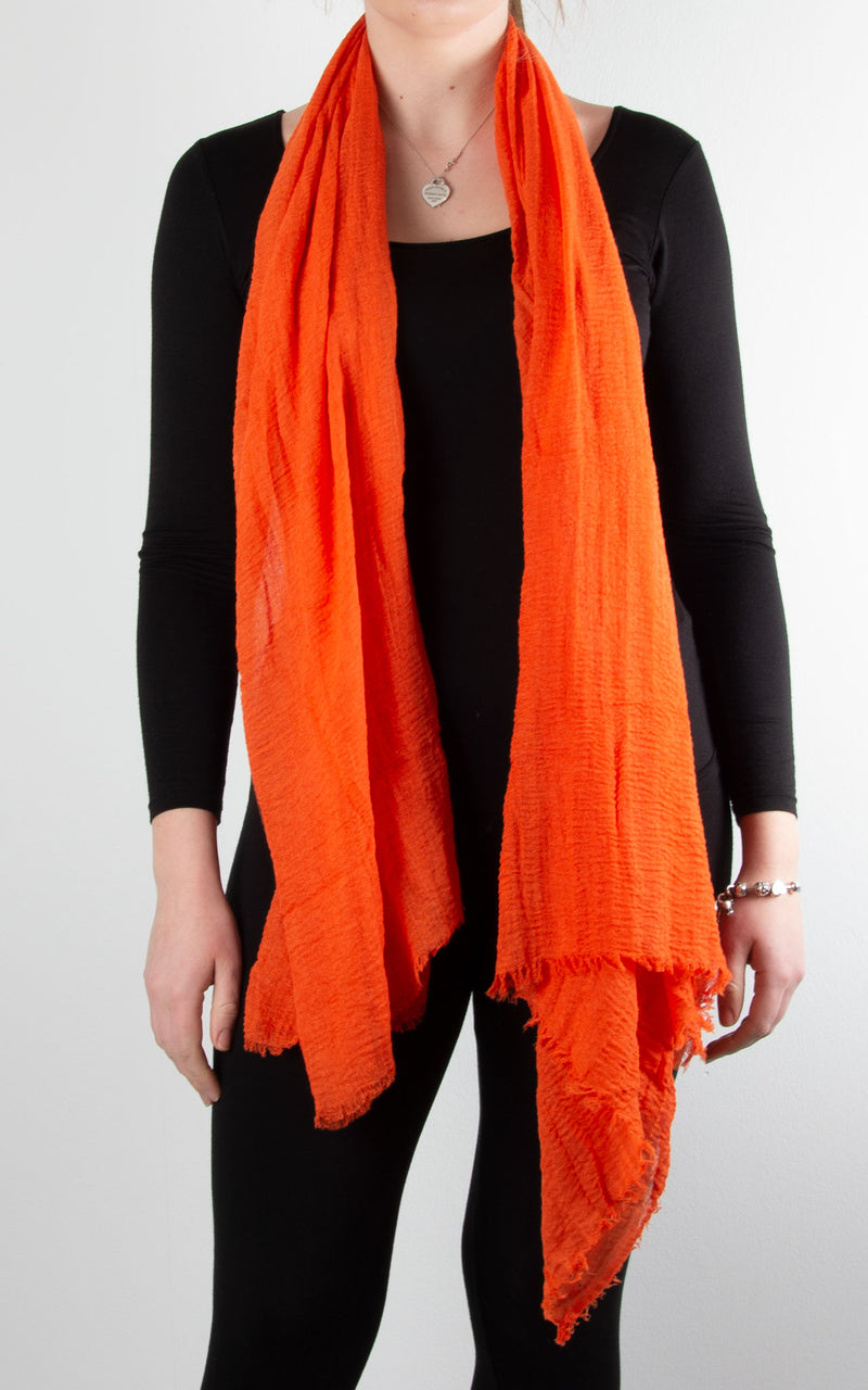 Soft Touch Scarf | Orange