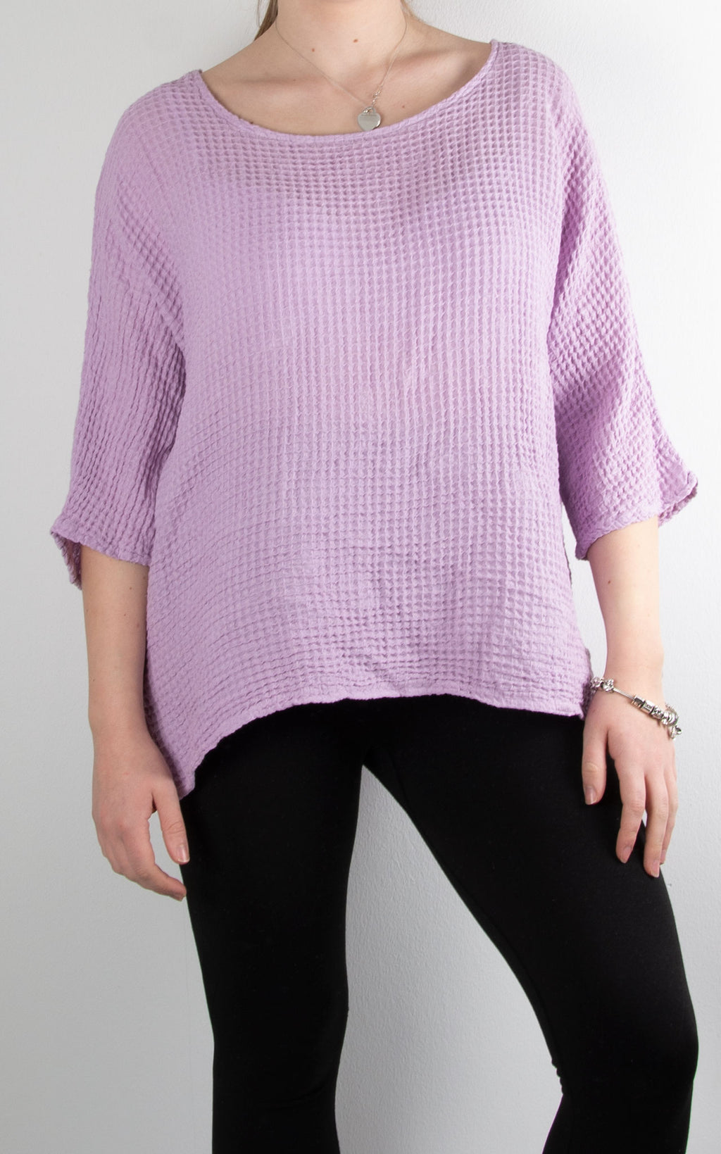 Ivy Basic Top | Lilac