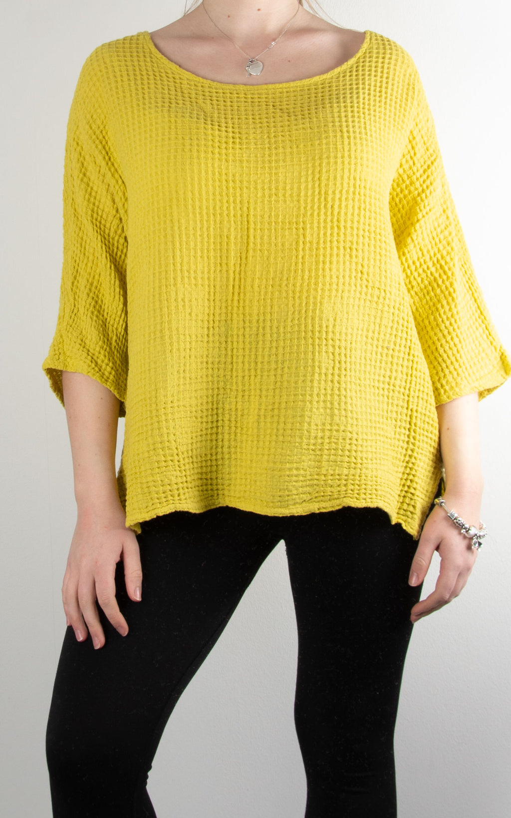 Ivy Basic Top | Yellow