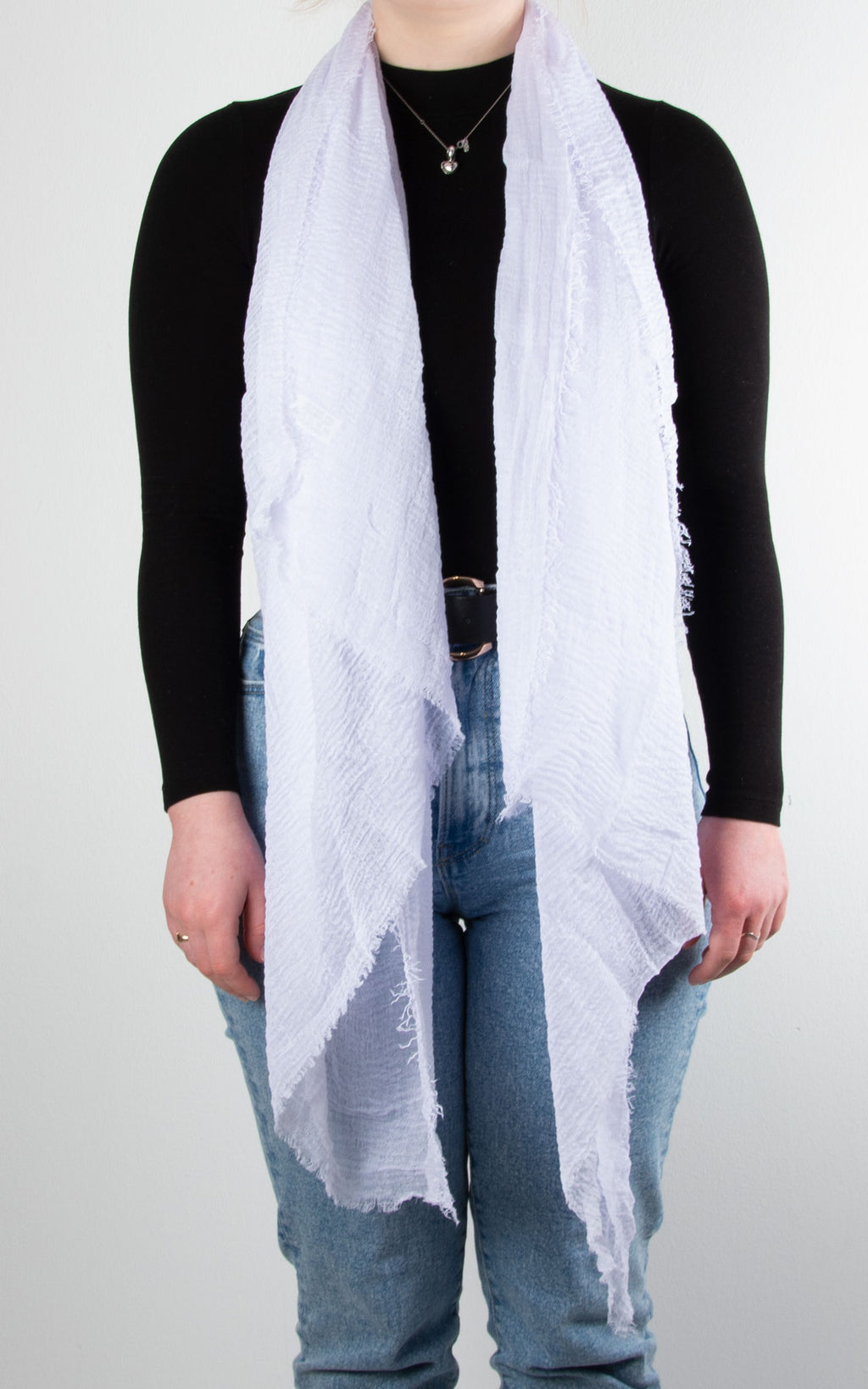 Soft Touch Scarf | White