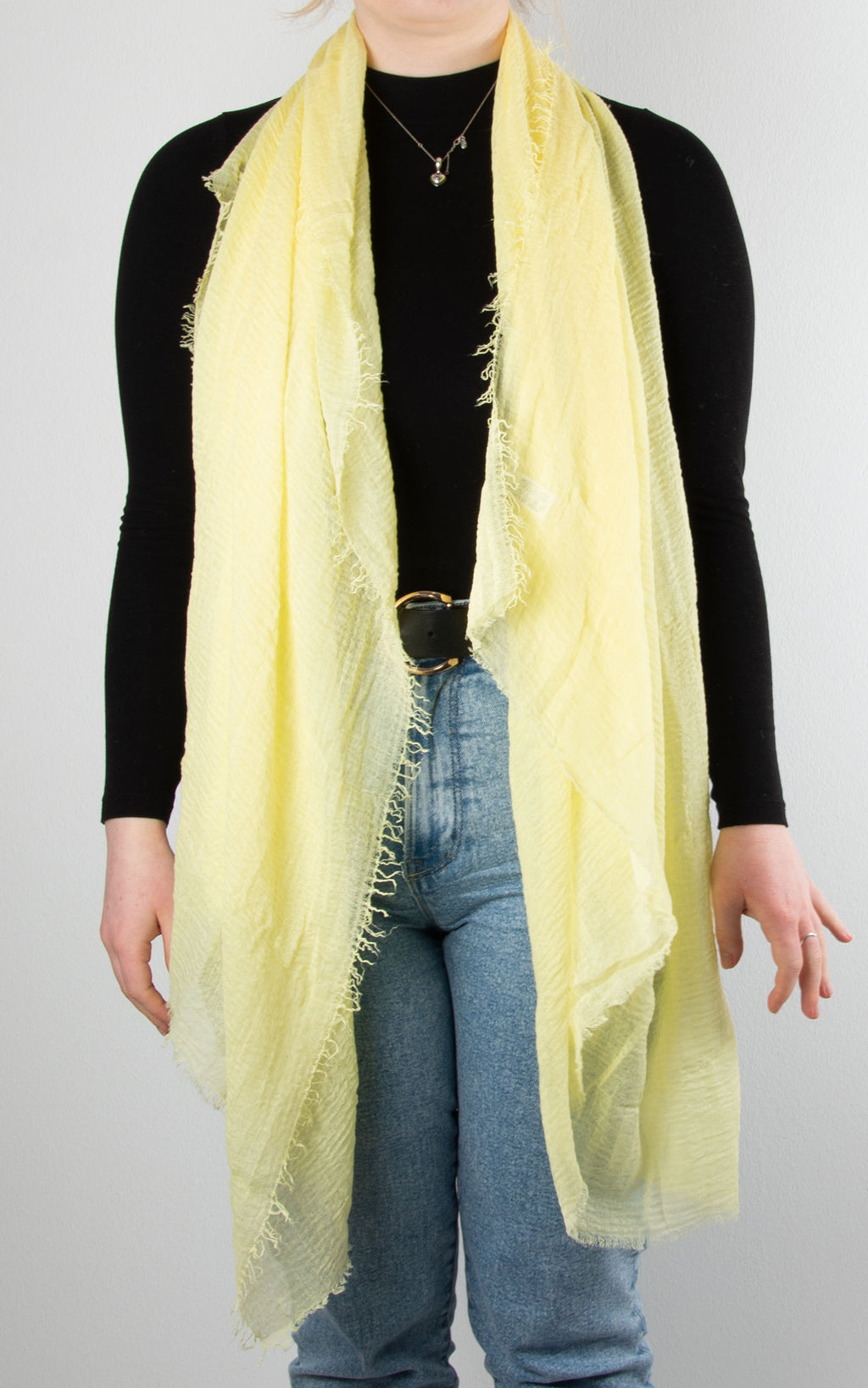 Soft Touch Scarf | Yellow