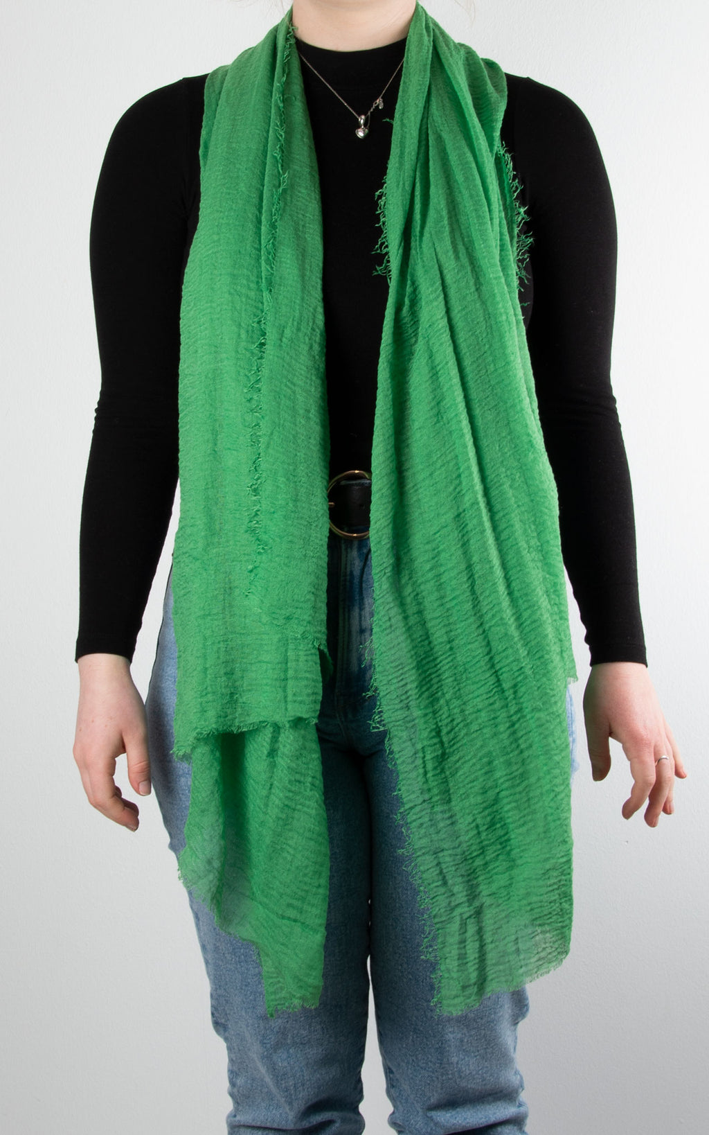 Soft Touch Scarf | Green