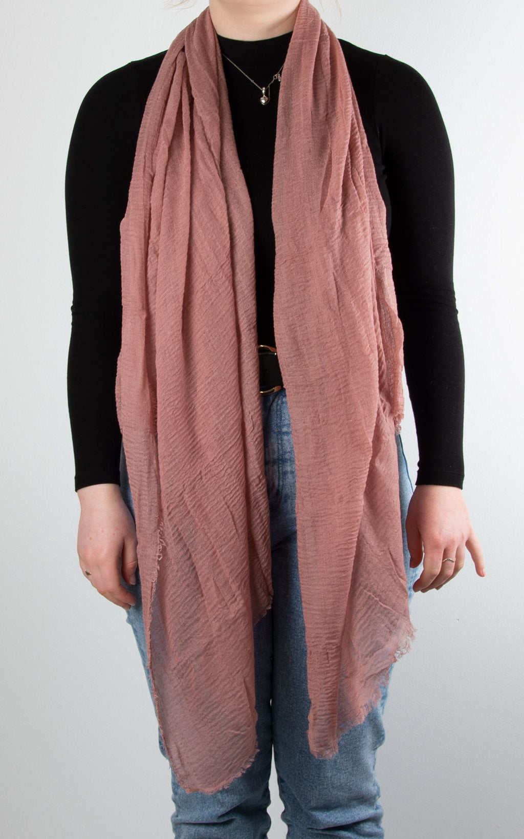 Soft Touch Scarf | Dusky Pink