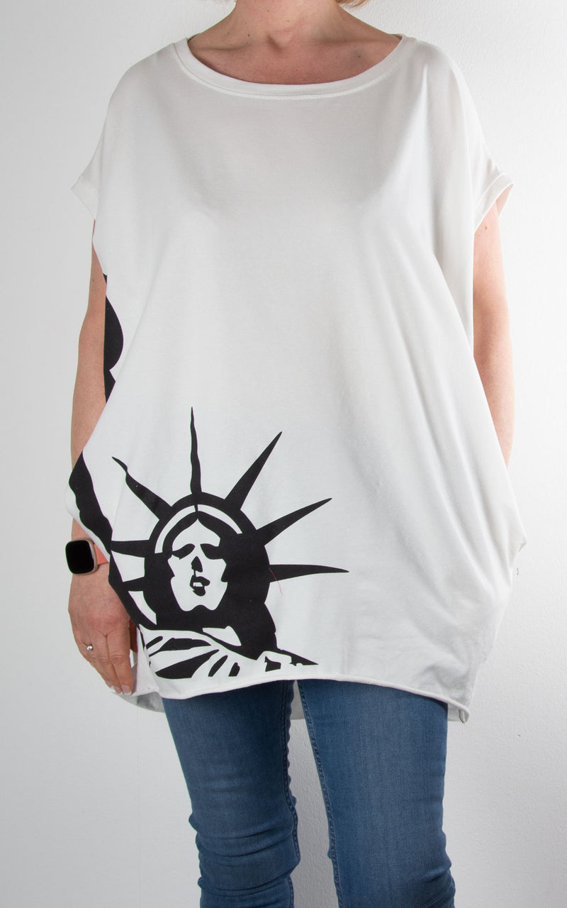 *Special Price* Rachel T | Liberty | White