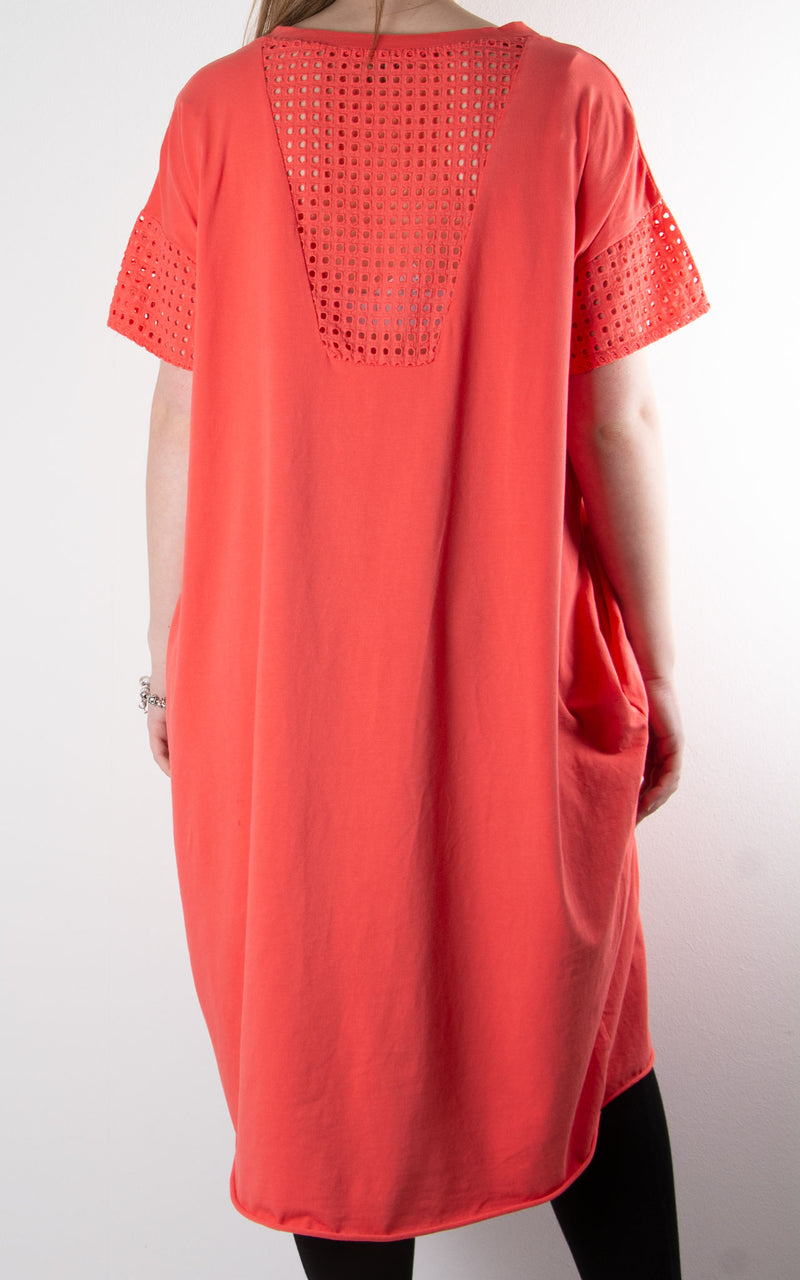 Libby Tunic T | Coral