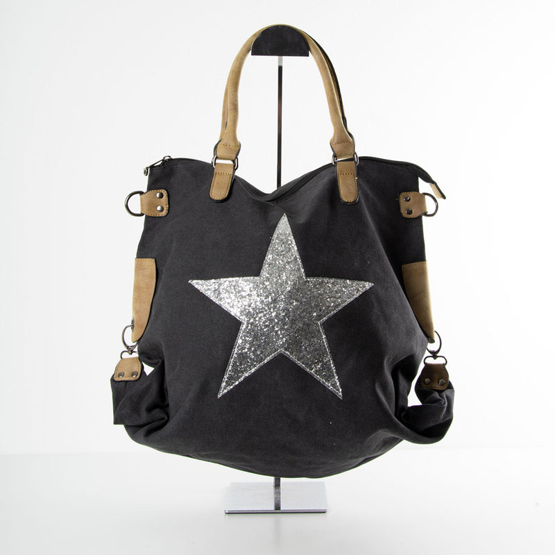 Star Bag | Slouch | Black
