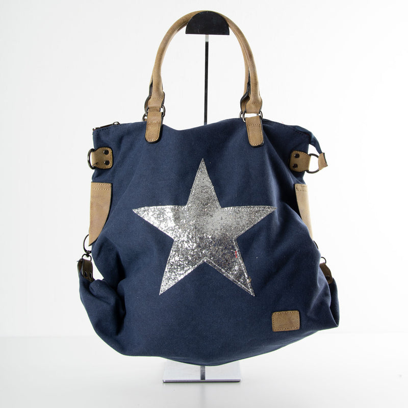 Star Bag | Slouch | Navy
