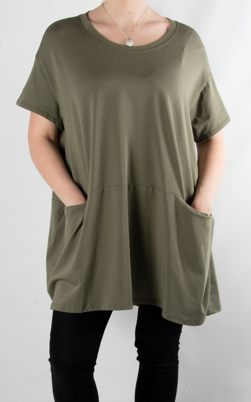 Pinny Balloon T | Khaki