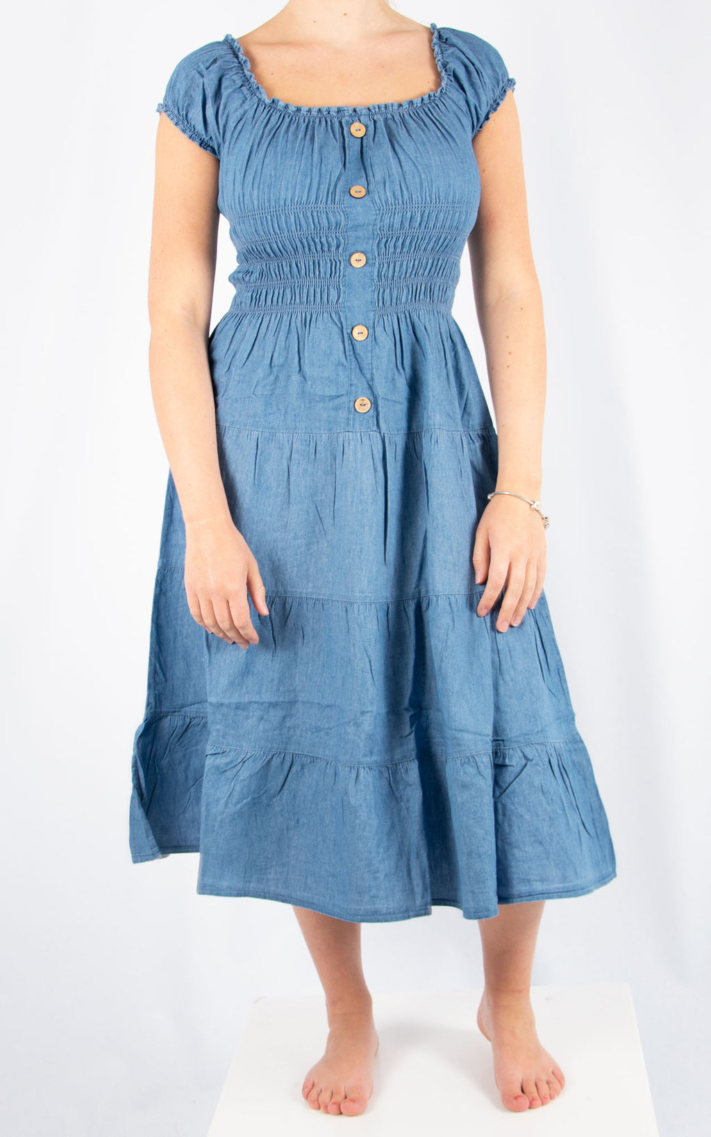 Denim Debbie Midi Dress