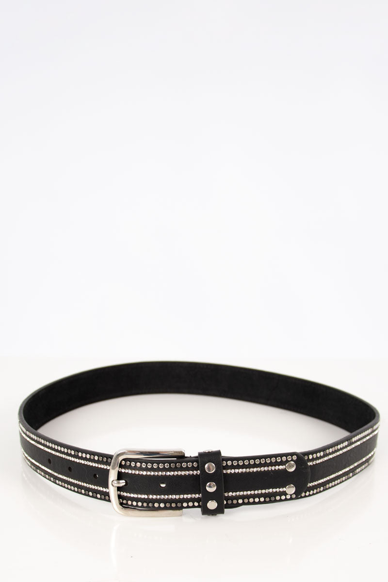 Diamond Belt | Black